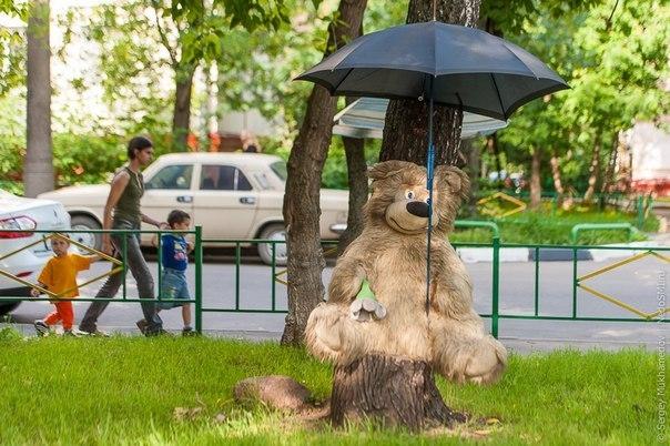 Необычные «плюшевые» дворы России