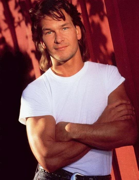В 1991 году самым сексуальным мужчиной в мире был признан Патрик Суэйзи.