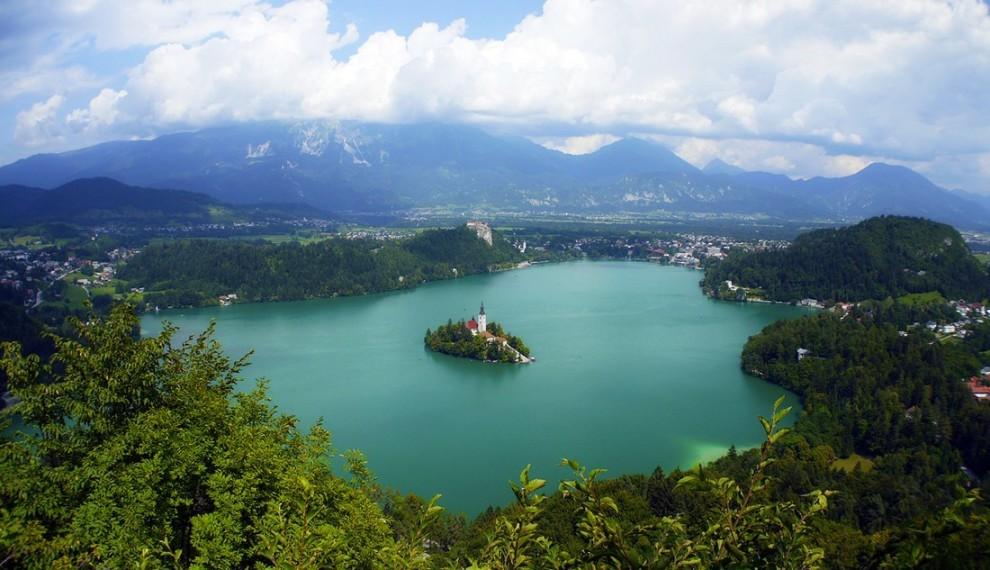 Остров Бледского озера, Словения