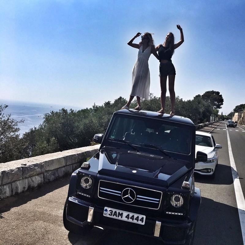 Единственное, чем отличаются RRK, это любовью к крышам автомобилей Instagram, RichRussianKids, Дети олигархов, будущее страны, деньги, золотая молодежь, роскошь, фото
