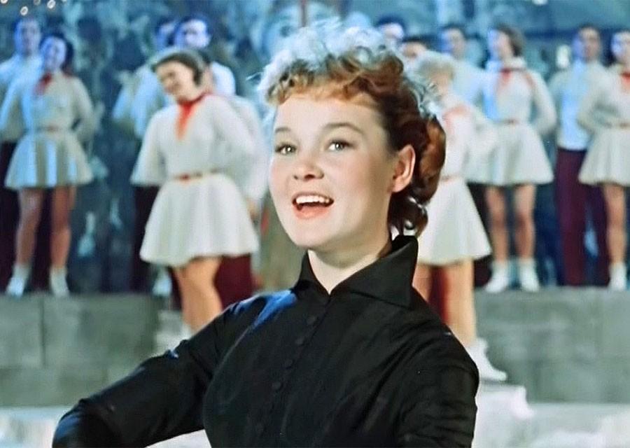Самая красивая актриса СССР.…