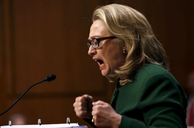 Истерика клинтоноидов в США