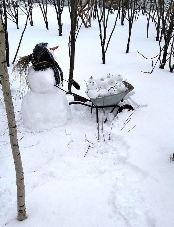 Снегомама