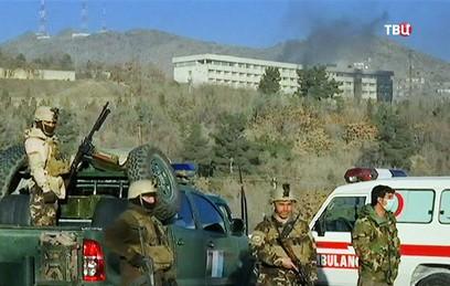 В результате нападения на отель в Кабуле погибли пять человек