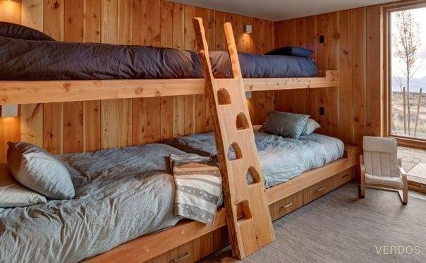 9 потрясающих идей обустройства двухъярусных кроватей