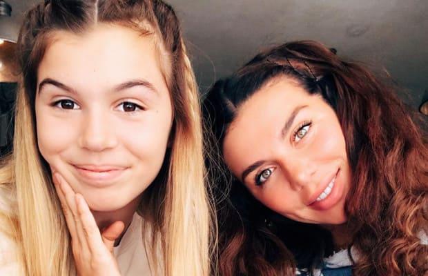"""Дочурка знаменитой певицы - юная копия ее самой . Сейчас девочке 13, и возможно через 5 лет мы сможем увидеть ее в новом составе """"ВиаАгры""""."""