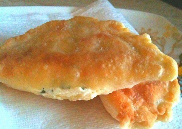 Пирожки с сыром «Минутка». Простой рецепт, но результат восхитительный.