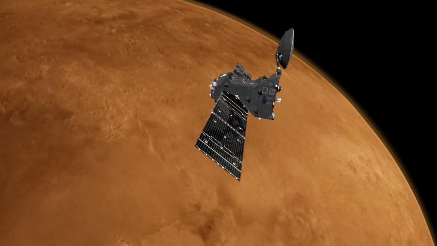 ESA, NASA и Роскосмос провели учения по поиску марсианской станции
