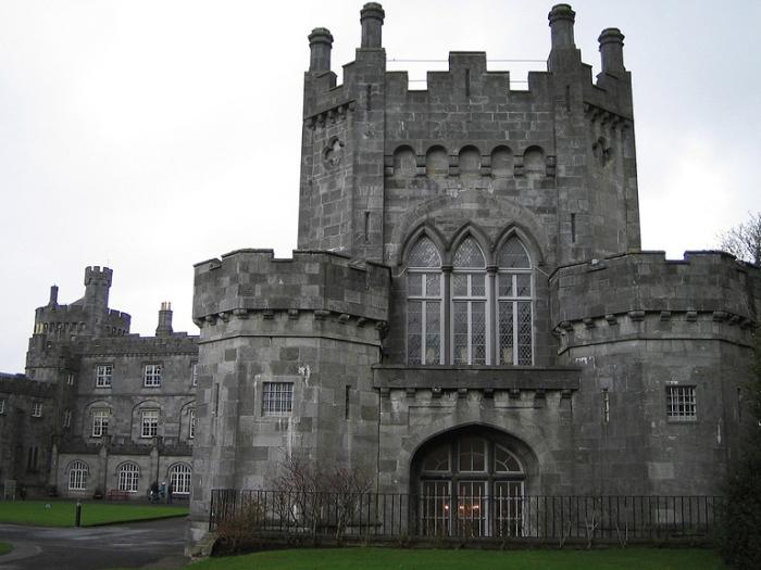 Замок Килкенни, Ирландия.