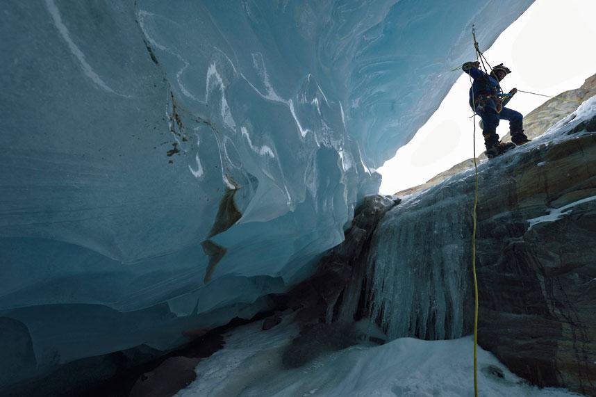 gorner 13 Ледяные пещеры ледника Горнер