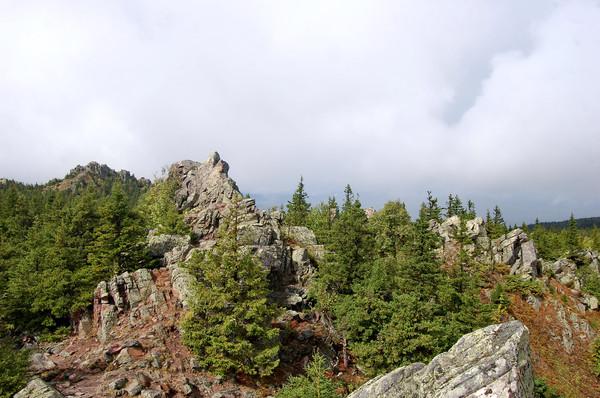 Южный Урал. НП Таганай. Забег за облака.