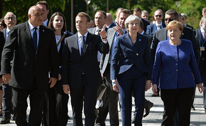 Игнор? - А. Меркель оскорбила Т. Мэй