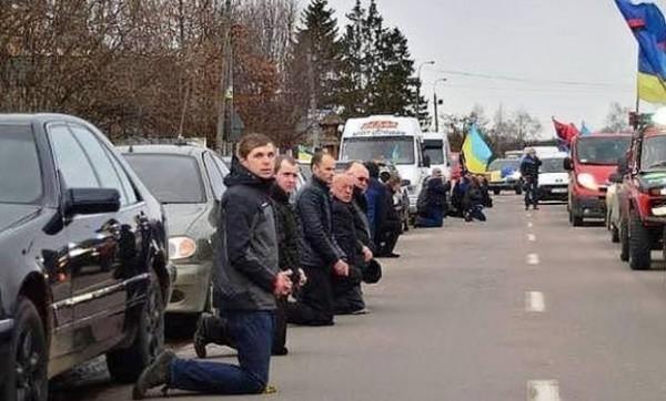 Украина на коленях политика, украина, народ, порошенко, длиннопост