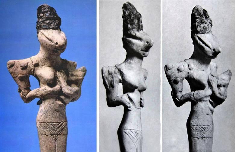 Загадка фигурок рептилий-прародителей дошумерской цивилизации