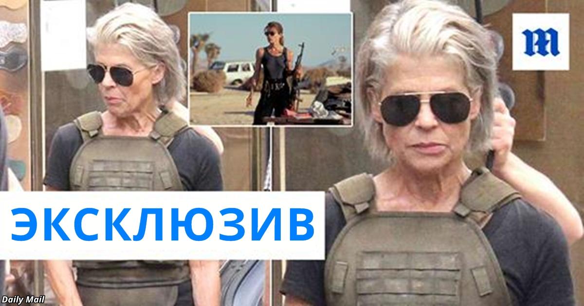 61-летняя Сара Конор снимается в новом ″Терминаторе″. Вот фото