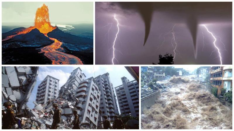 Мать-природа и ее мощь: 10 пугающих фотографий