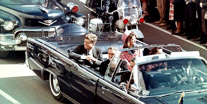 Фотография Кеннеди незадолго до убийства.