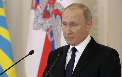 Путин признал терактом взрыв в магазине в Петербурге