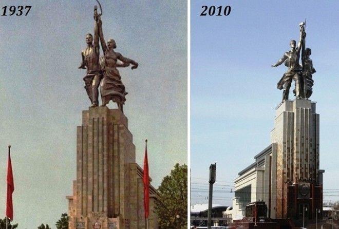 Как создавался памятник Рабо…