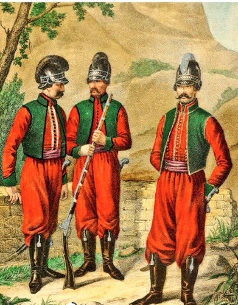 Как греки и албанцы за Росси…