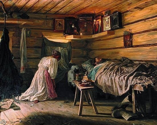 Не смотреть на покойника взгляд, женщина, запрет, опасно, примета, русь, славяне