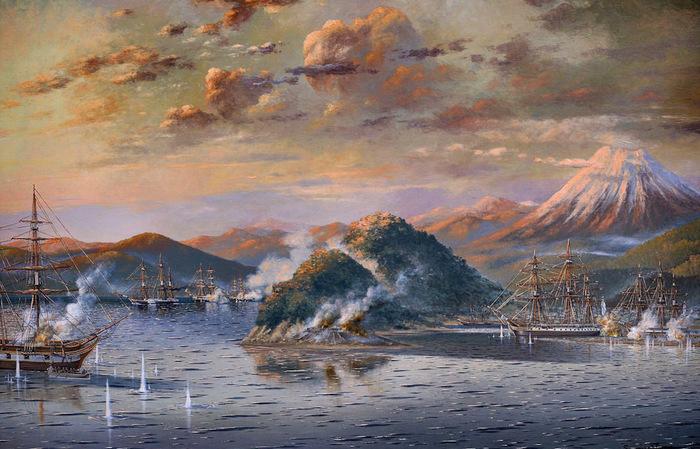 Первое сражение за Камчатку.