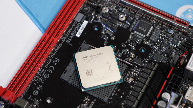 Дешёвый процессор AMD Athlon 200GE теперь можно разгонять