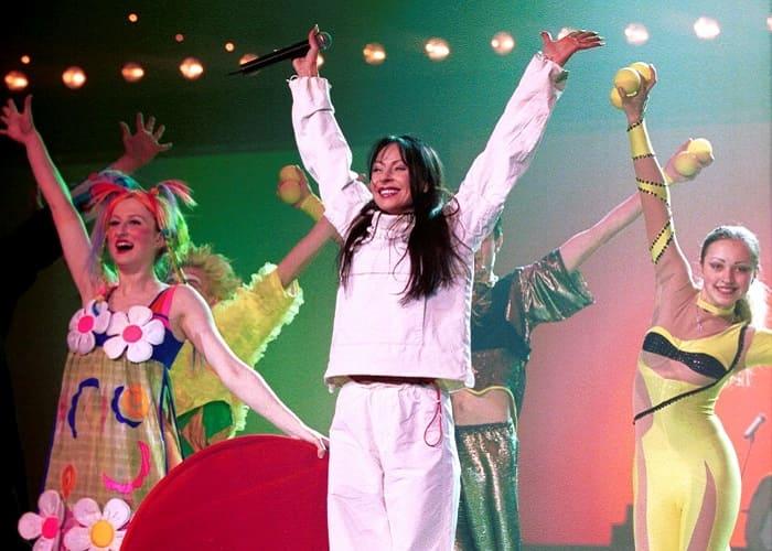 Певица на сцене   Фото: eg.ru