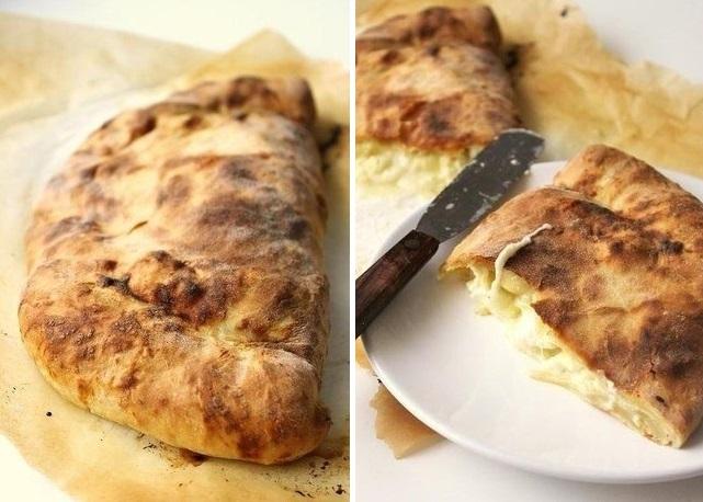 Хачапури – знаменитая грузинская лепешка с сыром. Вкусно невероятно