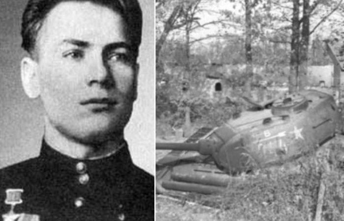 Советские танкисты, которые держали оборону боевой машины 13 дней