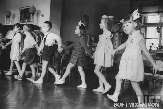 Детский сад 1960 года на страницах журнала Life