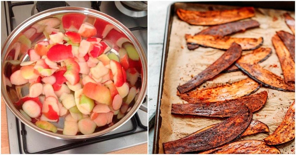 Очистки от фруктов и овощей в помощь: 10 гениальных применений