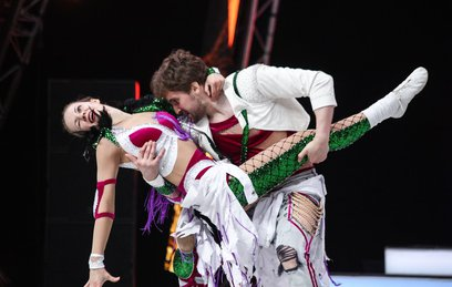 Российская пара победила на чемпионате Европы по акробатическому рок-н-роллу