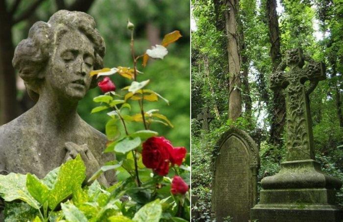 Хайгейт - кладбище в Лондоне, где до сих пор царит дух викторианской эпохи