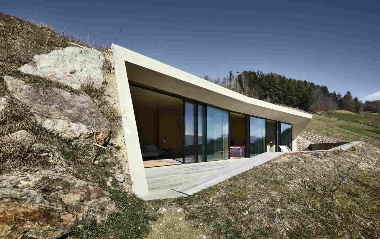 Расширение жилого дома на хуторе Felderhof в Италии