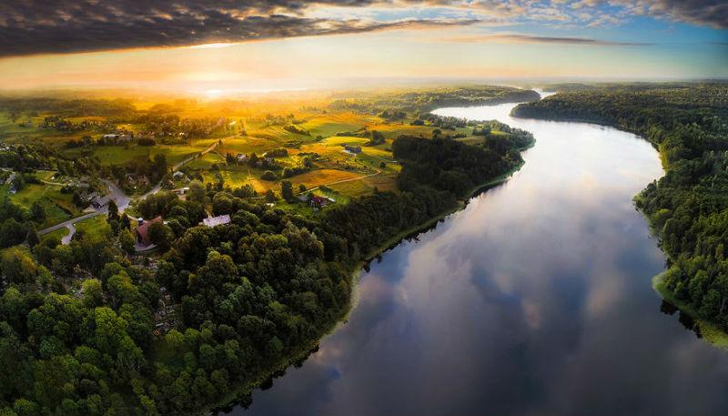 Красота Литвы в фотографиях