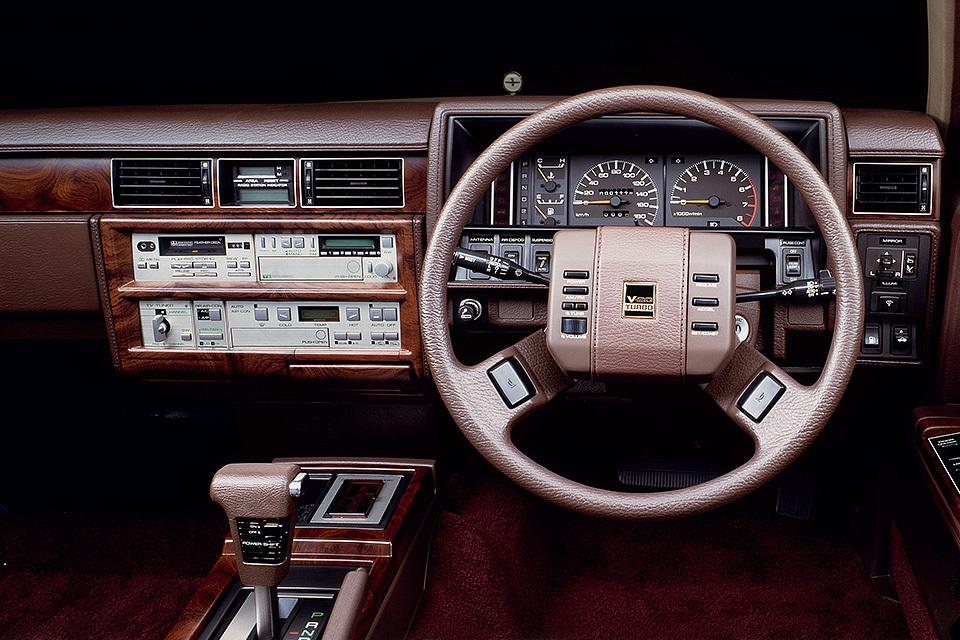Роскошь и безумие автомобилей 80-х