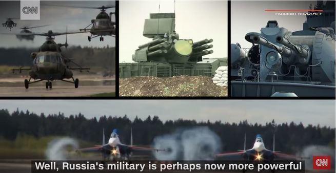 CNN: Мощь военного арсенала России