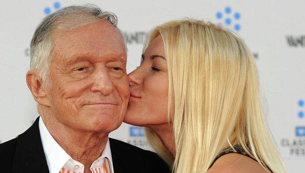 Основатель Playboy Хью Хефнер женился на фотомодели