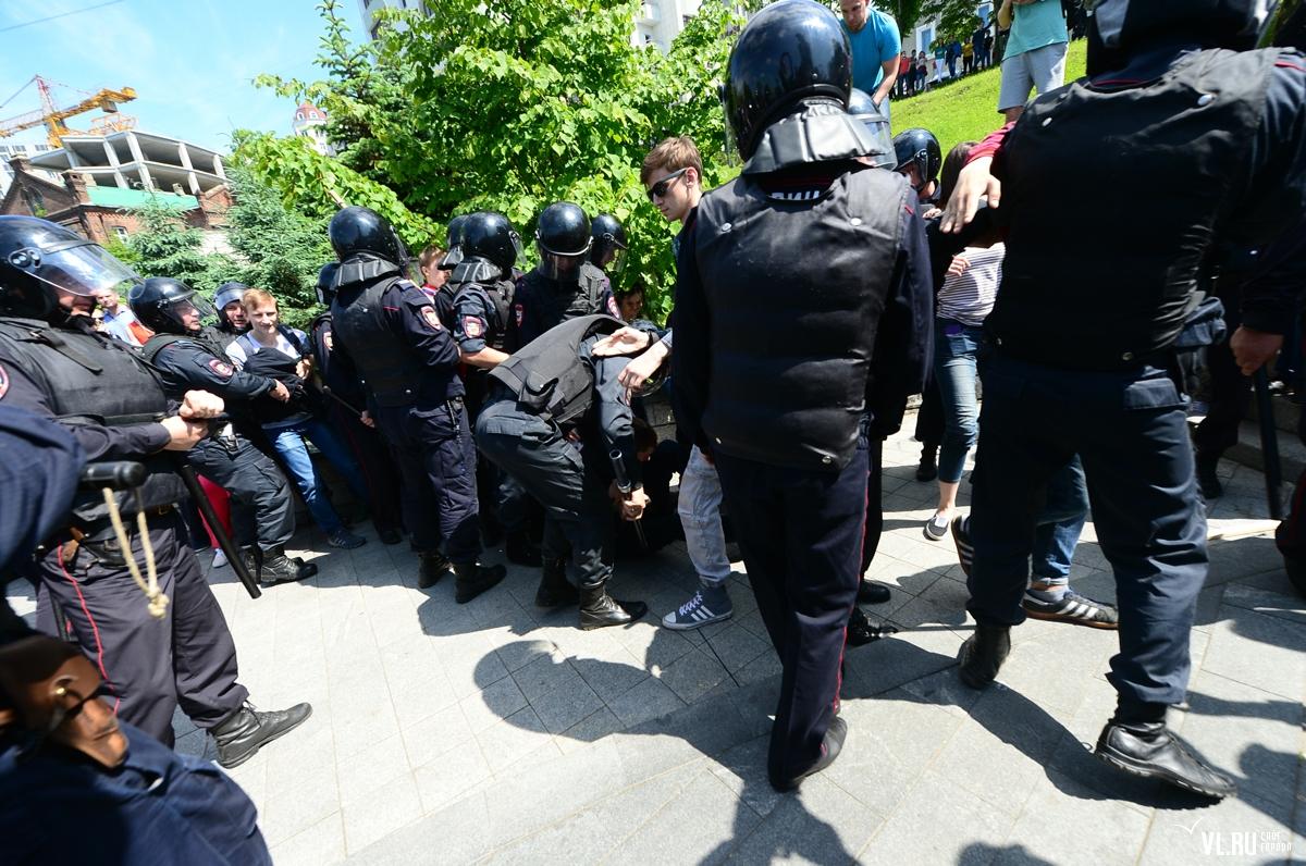 В Москве начался очередной день навальнят