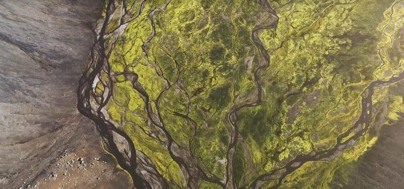 Исландия - страна удивительных пейзажей дрон, исландия, кадр, красота, мир, природа, съемка