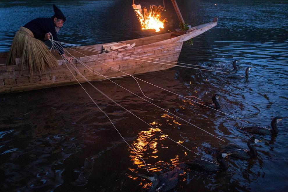 ловля рыбы по старинке