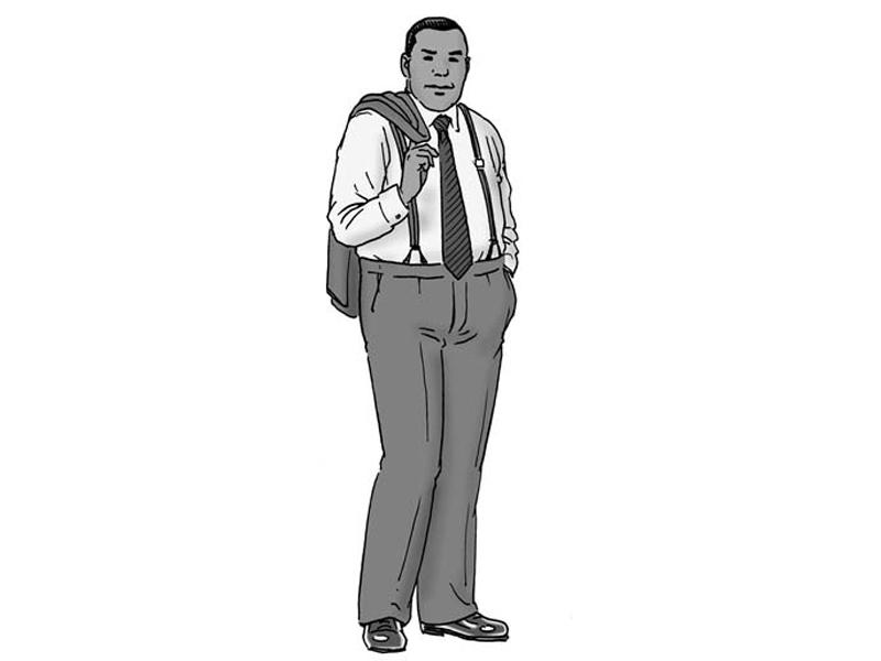 Правила стиля для упитанных мужчин