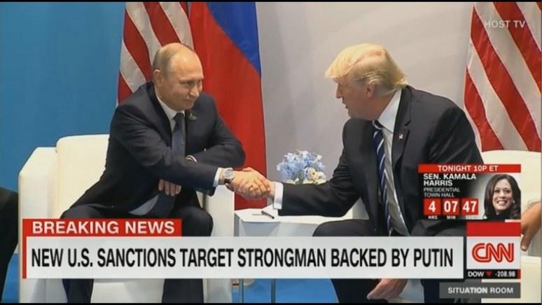 CNN: венесуэльский кризис станет проверкой для отношений Путина и Трампа