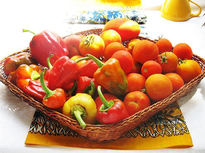 Заготовки: томат с паприкой, домашний рецепт с фото
