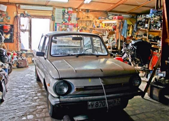 Электромобиль из 42-летнего «Запорожца»