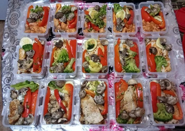 Заготовка еды на неделю