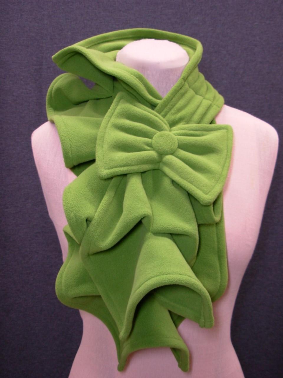 3 способа сделать шарф из флиса Шитье 49