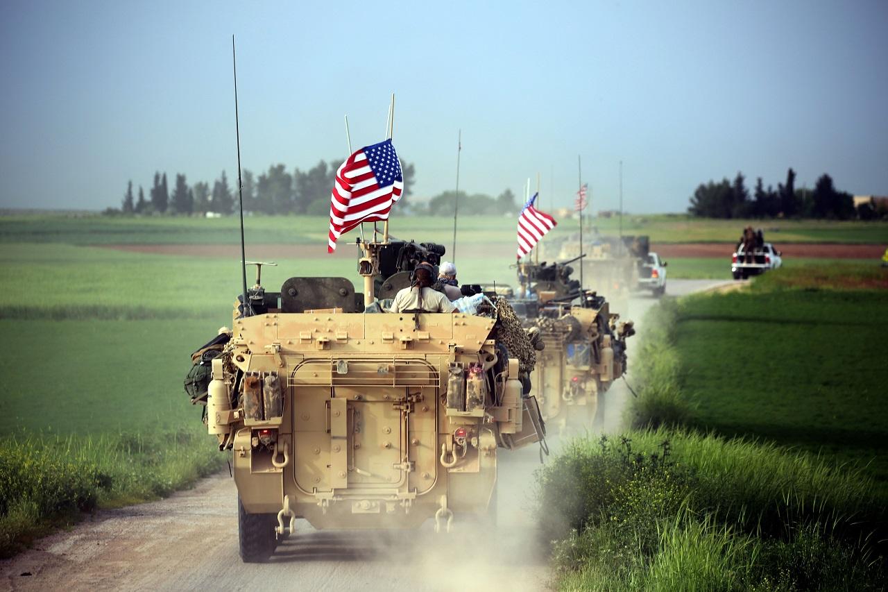 Американцы бросили курдов на…