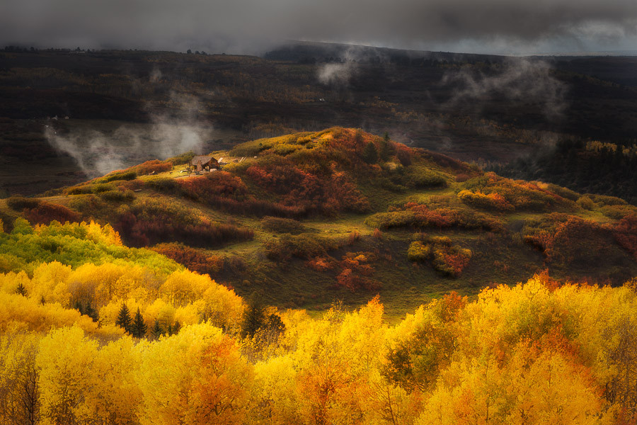 Фотография House on the Hill автор David Kingham на 500px